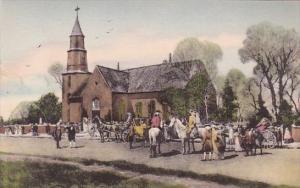Bruton Parish Church Williamsburg Virginia Albertype