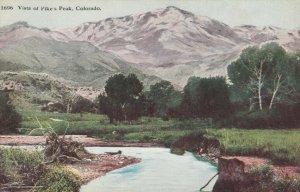 COLORADO, 1900-10s; Vista of Pikes Peak