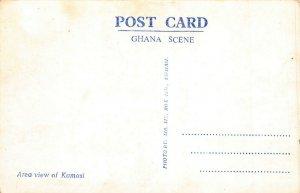 Ghana Gold Coast Kumasi RP Postcard