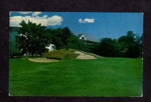 MA Tedesco Country Golf Course Marblehead Mass Massachusetts Postcard Golfing