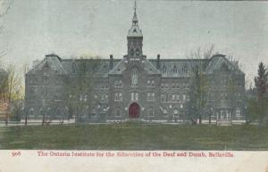 BELLEVILLE , Ontario, Canada, 1900-10s ; Deaf & Dumb Institute ; Ver-2