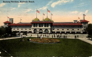 Redondo Beach, California - The Bathing Pavillion - in 1910