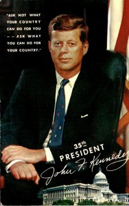 John F Kennedy 35th President Of The United States