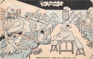 Militaire, Humour, Scene de caserne Aux Polochons!! Scenes Militaires E.R.