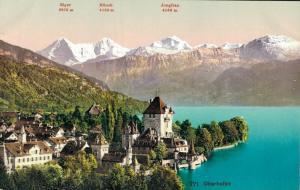 Switzerland 771 Oberhofen 01.83