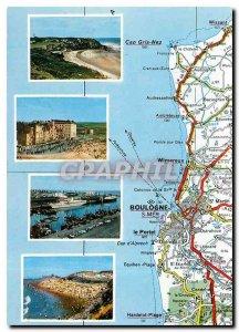 Modern Postcard The Opal Coast