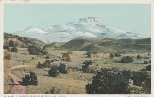 Fisher's Peak near Trinidad CO, Colorado - DB - Detroit Publishing - Fred Harvey