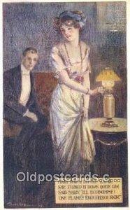 Sherie, Ernist 1912 very light corner wear close to grade 2, postal used 1912