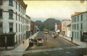 Penn Yan NY Elm St. c1910 Postcard
