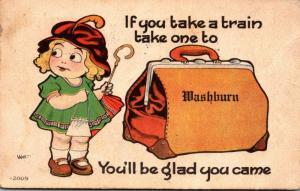 Iowa Washburn If You Take A Train 1915