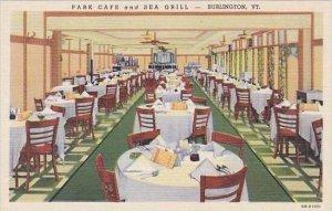 Vermont Burlington Park Cafe &  Sea Grill