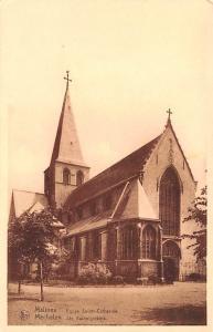 Malines Belgium, Belgique, Belgie, Belgien Eglise Sainte Catherine Malines Eg...