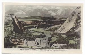 RPPC Canada Banff Springs Horwl Bow River Valley Rockies