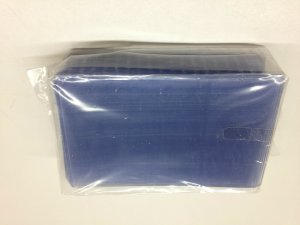25 Hard Plastic Top Loader Holds 5.875 x 3.75 Postcards