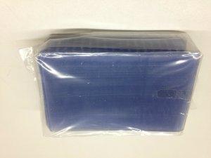 25 Hard Plastic Top Loader Holds 5.875 x 3.75 Postcards