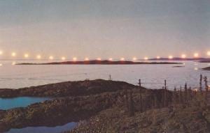 The Land Of The Midnight Sun, Showing This Spectacular View Of The Canadian N...