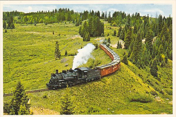 Colorado Cumbres and Toltec Scenic Railroad at Water Stop