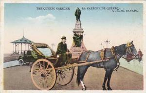 Canada Quebec The Caleche