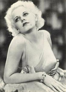 Postcard, Jean Harlow, American Film Actress by Athena International 49V