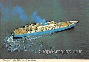 Princess of Acadia Ship Digby, Nova Scotia, Canada Unused