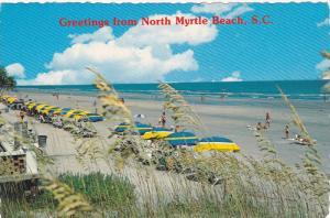 NORTH MYRTLE BEACH , South Carolina , 60-80s ; Beach