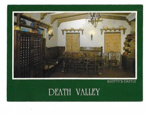 Scotty's Castle Kitchen Nook Area Death Valley California  4 by 6