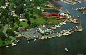 Connecticut Essex Harbor Aerial View Griswold Inn