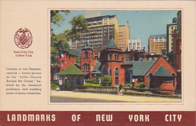 Church Of The Transfiguration Landmarks Of New York City 1946