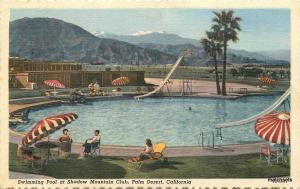 1952 Swimming Pool Shadow Mountain Club Palm Desert California 10887 Willard