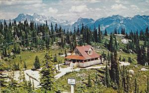 Heather Lodge, Mt. Revelstoke, REVELSTOKE, British Columbia, Canada, 40-60's