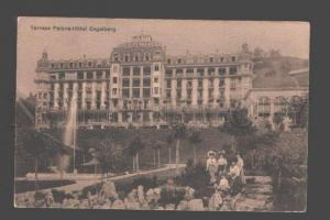 087587 SWITZERLAND Terrace Palace-Hotel Engelberg Vintage PC