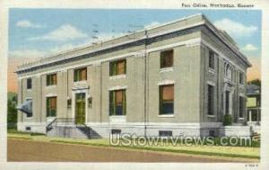 Post Office Manhattan KS 1951