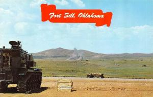 FORT SILL, OK Oklahoma  ARMY ARTILLERY~MISSILE CENTER  Howitzer Firing at Target