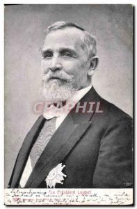Old Postcard Loubet President of the Republic