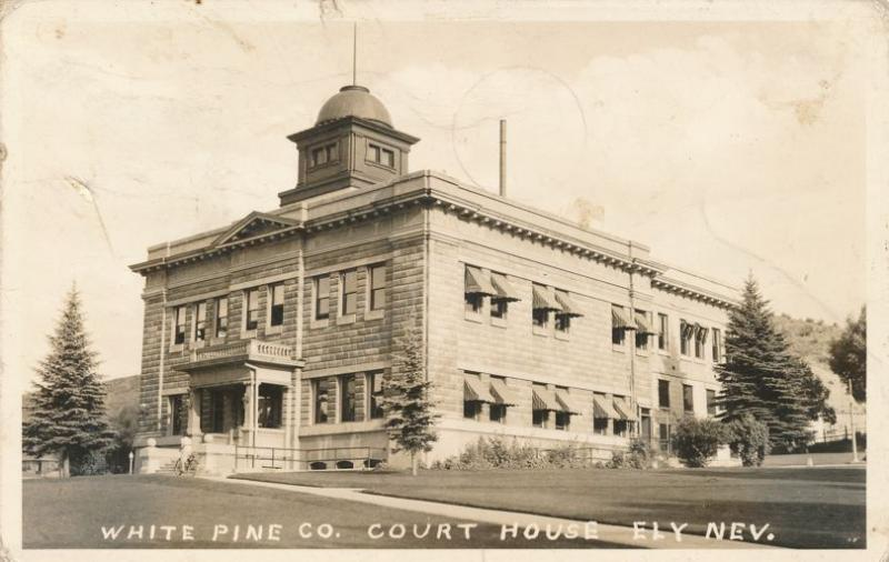 RPPC White Pine County Court House - Ely NV, Nevada - pm 1941