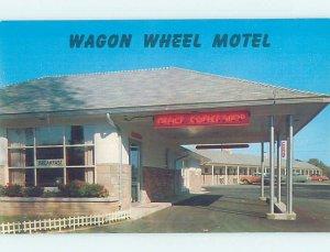 Pre-1980 MOTEL SCENE West Springfield Massachusetts MA AD9105