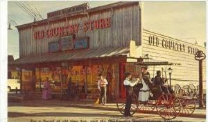 Old Country Store, Jackson, Tennessee, 40-60s