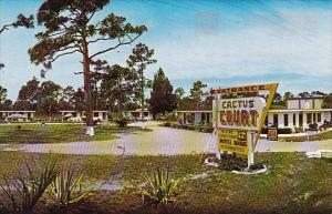 Florida North Fort Myers Cactus Court Motel