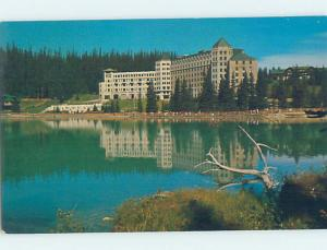 Unused Pre-1980 HOTEL SCENE Lake Louise Alberta AB B0178