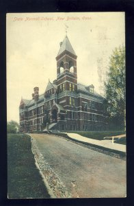 New Britian, Connecticut/CT Postcard, State Normal School