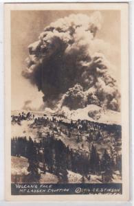 Volcano - Mt Lassen 1914