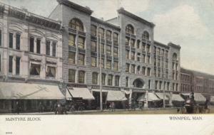 WINNIPEG , Manitoba , 1907 ; McIntyre Block