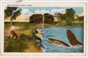 Fishing - BIG Fish