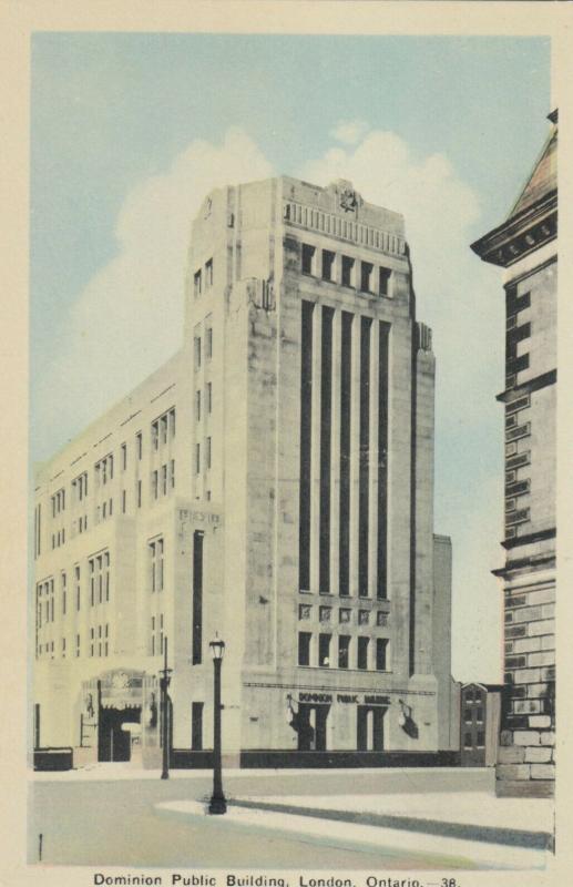 LONDON, Ontario , 1930s ; Dominion Public Building