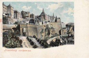 LUXEMBURG vom Rahm aus. , 1900s
