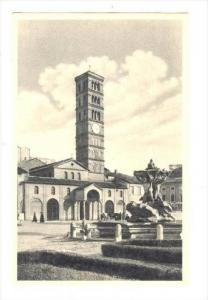 St. Mary's In Cosmedin Restored To The Ancient Form, Roma (Lazio), Italy, 190...