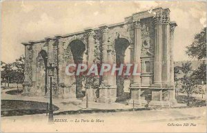 Old Postcard REIMS - The Mars Gate