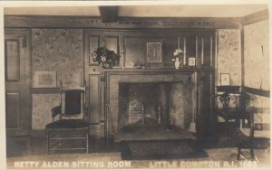 RP; LITTLE COMPTON, Rhode Island, 1910s; Betty Alden Sitting Room