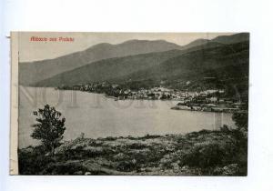 192774 Croatia Opatija ABBAZIA Preluka Vintage postcard
