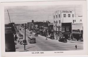 RP; VAL D'OR , Quebec , Canada , 30-40s ; Main Street , Version-4